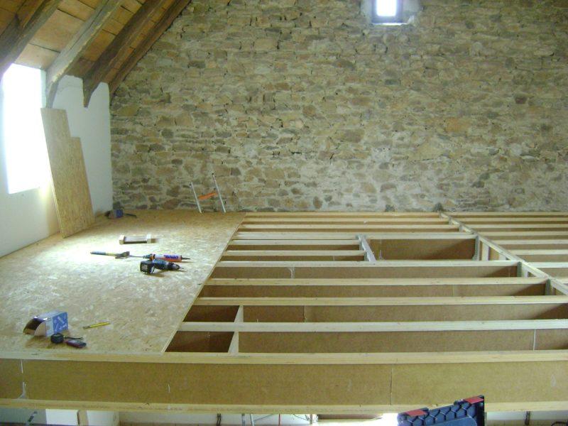 Solivage création d'étage