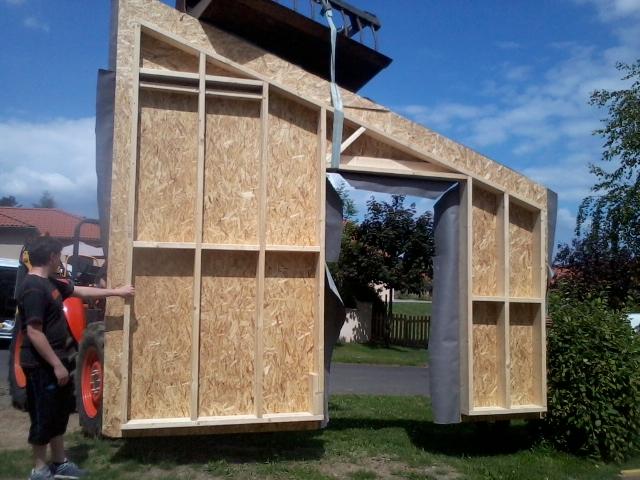 Charpente et construction ossature bois.