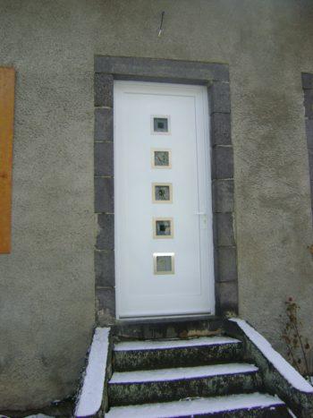 Porte d'entrée PVC PEROU