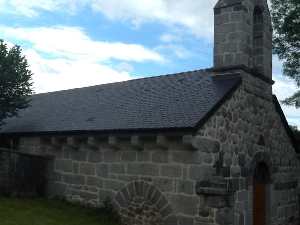 Chapelle romane L'Eclache Auvergne