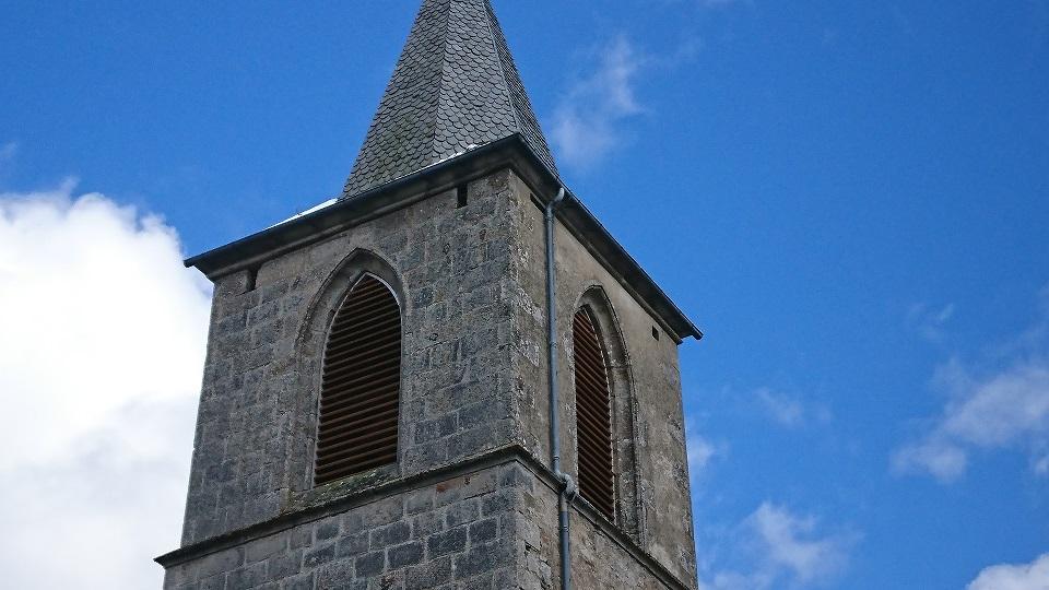 Abats sons clocher église Auvergne